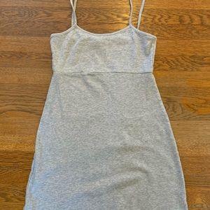 Grey brandy Melville tank dress